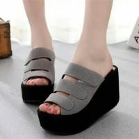 Jual Sepatu Wanita |WEDGES SOFIA MAGENTA Sepatu Murah