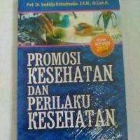 buku promosi kesehatan dan prilaku kesehatan
