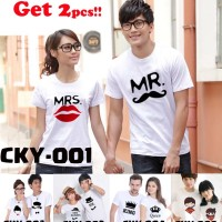Kaos Couple - Couple Tee [Bahan Cotton Combed 24s] - Part 1 -