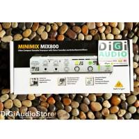 Behringer MINIMIX MIX800 [ MIX 800 ] Karaoke Machine with Efek