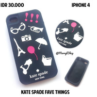 IPHONE 4 4S CASE | KATE SPADE FAVE THINGS