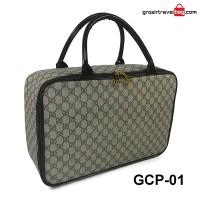Travel bag kulit sintetis sintetis gucci (waterproof) GCP-01
