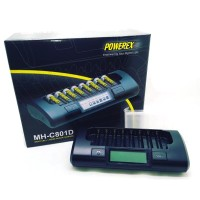 Powerex MH-C801D (Fast Charger 8 slots) AA/AAA Charger