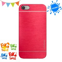 Motomo Kim Metal Case Premium Quality for Iphone 5/ Iphone 5S - Merah