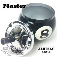 Asbak Bola-8 - Billiard Ashtray 8-ball - Hadiah Biliar Bilyar Kado
