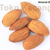 harga Kacang Almond Kulit Ari Oven / Matang 100gr Tokopedia.com