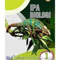 Buku Erlangga 0035700220 IPA BIOLOGI SMP (TAG)/KLS.VII/K2013-ERLANGGA