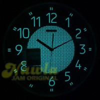 Seiko Wall Clock QXA473-G Lumibrite   Jam Dinding Seiko QXA473