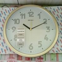Seiko Wall Clock QXA473-G Lumibrite | Jam Dinding Seiko QXA473