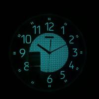 Wall Clock Seiko QXA473 Lumibrite| Jam Dinding QXA473G