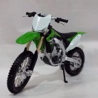 Diecast Miniatur Motor Cross Trail Kawasaki KX 450F