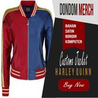 Jaket Harley Quinn : Property Of Joker Custom Premium Limited Editions