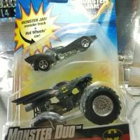 Hot Wheels Monster Jam Monster Duo Batman