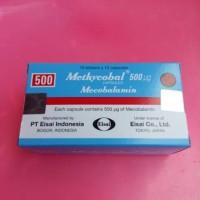 METHYCOBAL MECOBALAMIN 500MG '10 tab (eceran)
