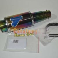 harga Knalpot Racing Satria Fu Termignoni Rossi Rainbow Series Racing Custom Tokopedia.com