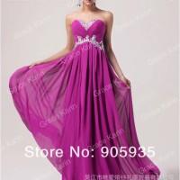 Long Dress Kemben Ungu Biru Merah Gaun Malam Baju Pesta Prewedding