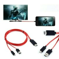 MHL Adapter Micro USB to HDMI HDTV | Kabel HDMI Android Samdung s3 s4