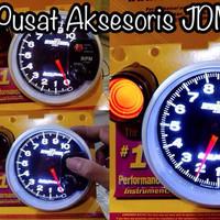 custom mobil Tachometer Autometer Sportcomp ll tercanggih