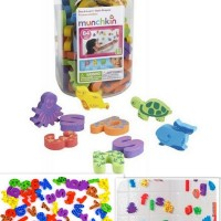 Jual Mainan Anak Munchkin Sea & Learn Bath Shapes (Munchkin ABC Stoples) Murah