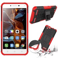Casing Rugged Armor Kickstand Lenovo Vibe K5 Plus/Lemon 3/K5 Hard Soft