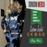 Jaket S.K.W.A.D Cara Delevingne & Margot Robbie Bordir Nama