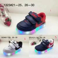 Sepatu anak Nike led kids lampu
