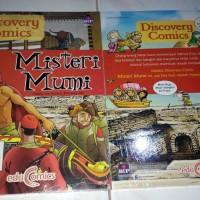 Discovery Comics Misteri Mumi Educomics BIP kim jong min