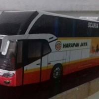 Pajangan Interior Miniatur Bus Telolet