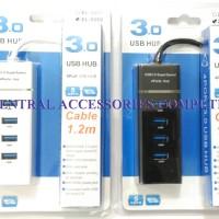Jual USB HUB 3.0 4 PORT 1,2 M XL-5069 Murah