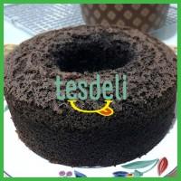 Jual Chiffon Cake Ketan Hitam Premium (Kue Sifon Ketan Hitam) Murah