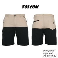 Celana pendek Volcom | Shortpant kombinasi ada 4 warna geser gambar ke