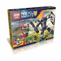 Lepin 14023 Nexo Knight The Black Knight Mech 578pcs