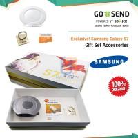 Eksklusif! Samsung Galaxy S7 Original Premium Gift Set - Putih