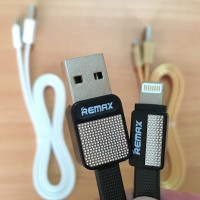 Jual Kabel Remax USB Lightning RC-044i Metal Data Cable Platinum For iPhone Murah