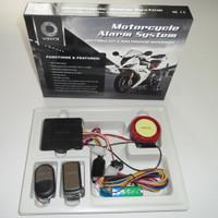 EXLUSIVE ALARM Motor Merk VINYX + Baterai Cadangan Anti Maling / Viyni