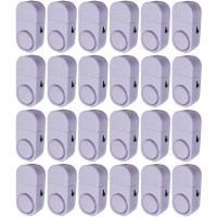 Paket 24 Buah Alarm Pintu Anti Maling Kecil - Putih (Door Entry Alarm)