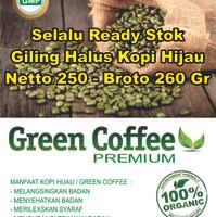 Jual green coffee bean extra kopi hijau diet alami makin sehat Murah