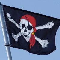 Bendera Besar Bajak Laut Skull Crossbones Jolly Roger Pirate Pirates
