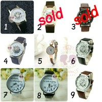 SALE! Jam Tangan Pria Wanita Skeleton| Ladies Men Fashion Watch Korea