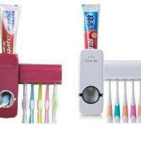 Dispenser odol tempat sikat gigi dan pasta gigi