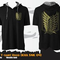 Jual Kaos Attack On Titan KHA SNK 04 Kaos Hoodie Murah