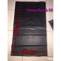 60x100cm kantong plastik kresek sampah hitam trash bag kantong sampah