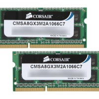 Corsair MAC Apple Memory DDR3 Sodimm RAM 8GB 2x 4GB CMSA8GX3M2A1066C7