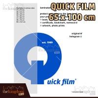 Quick Film Sampul Plastik Laminating Ukuran 65 x 100 cm / 65x100cm
