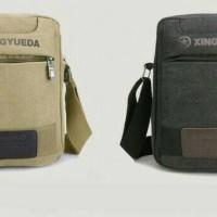 premium branded import tas selempang pria kotak besark kecil tempat hp