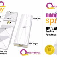 Jual Special Sale PAKET NANO SPRAY DAN MAGIC ROLLER (MAGIC STICK) Q ADVENTU Murah