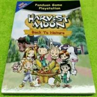 Buku Cheat Guide Walkthrough Harvest Moon Back To Nature Lengkap
