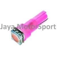 Lampu LED Mobil / Motor / Speedometer / Dashboard T5 1 SMD 5050 -Pink