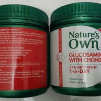 Nature's Own Glucosamine 1500 with Chondroitin 180 Tablet