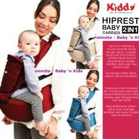 Jual Kiddy Gendongan Hiprest / Hipseat Baby Carrier 2 in 1 ( Multi Fungsi ) Murah